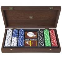 Набор для покера на 300 фишек в элитном футляре PVE20.300U Manopoulos