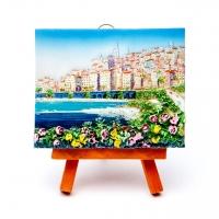 Картина пейзаж Морской город КОП-1-04