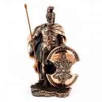 Статуэтка троянского воина с копьем T1005
