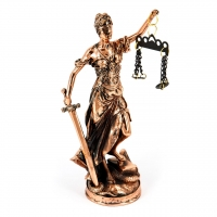 Статуэтка Фемида богиня правосудия T1041