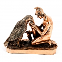 Статуетка чоловік і орел T1441 Classic Art