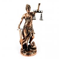 Статуэтка правосудия Фемида с мечом T999