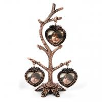 Фоторамка дерево семьи на 3 фото YL-V027