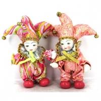 Статуэтка фигурка кукла венецианский шут A2 №2