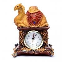 Статуетка верблюд настільний годинник 4304