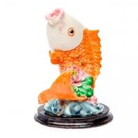Статуэтка рыба на подставке 8706