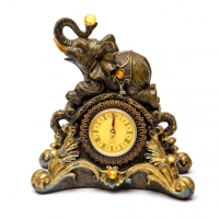 Статуэтка слон каминные часы 2111
