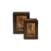 Набор книг шкатулок Святой Георгий 2 шт C-007