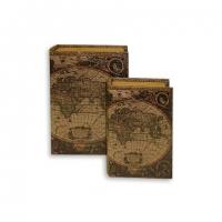 Набір скриньок книг Стародавня карта C-1002