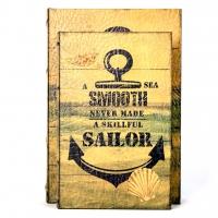 Набор книг шкатулок Sailor 2 шт KSH-PU1716 Decos