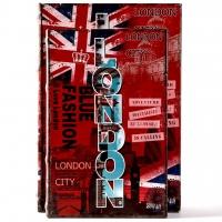 Набір книг шкатулок London 2 шт KSH-PU1679 Decos
