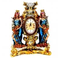 Каминные часы статуэтка Фортуна PL0412R-31A7-10 Classic Art
