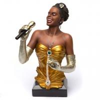 Статуэтка африканская певица джаза 532 Classic Art