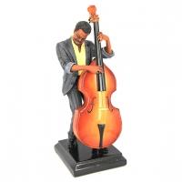 Статуэтка музыканта играющего на контрабасе 537 Classic Art