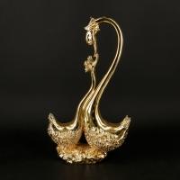 Статуетка лебеді під золото BR-703