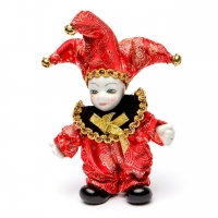 Статуэтка фигурка кукла венецианский шут A2 №2-04