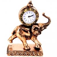 Статуэтка слон каминные часы 76-E546