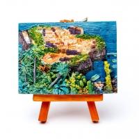Картина объемная Морской город КОП-1-02