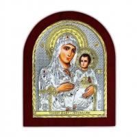 Ікона Богоматері Єрусалимська EP2-006XAG/P Silver Axion