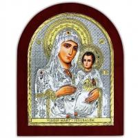Икона Божьей Матери Иерусалимская EP5-006XAG/P Silver Axion