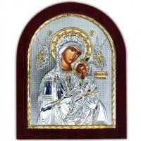 Икона Девы Марии Страстная EP5-008XAG/P Silver Axion