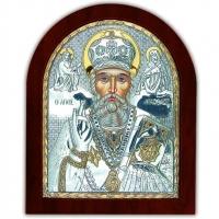 Ікона Св. Миколай Чудотворець EP5-009XAG/P Silver Axion