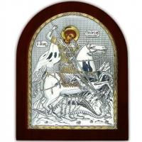 Икона Св. Георгия Победоносца EP5-010XAG/P