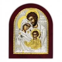 Ікона Свята Родина EP3-015XAG/P Silver Axion