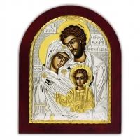 Икона Святого Семейства EP4-015XAG/P Silver Axion