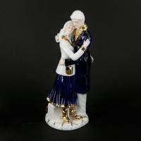 Колекційна порцелянова статуетка дівчина і хлопець 0447 Classic Art