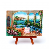 Картина Балкон у моря КОП-2-09