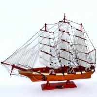 Модель корабля з дерева Cutty Sark тисяча вісімсот шістьдесят дев'ять 65 см 6001