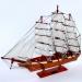 Модель корабля из дерева Cutty Sark 1869 65 см 6001