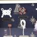 Картина панно настенная Морксие узлы и парусник G-034