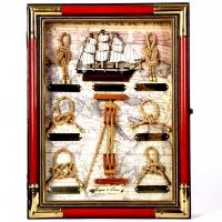 Ключниця на стіну на 6 ключів морська Cutty Sark 3325A