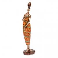 Африканская статуэтка женщины 7177 B