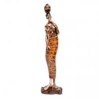 Африканская статуэтка женщины 7177 C
