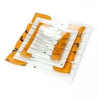 Набір тарілок TR001 4 предмета скло