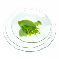 Набор тарелок TR008 3 предмета стекло