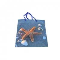 Пакет подарунковий пластик 14 * 11,5 * 6,5 №10415-2