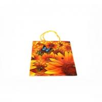 Пакет подарочный пластик 14*11,5*6,5   №10415-3