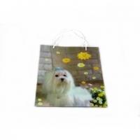 Пакет подарунковий пластик 25 * 32 * 9 №10465-2
