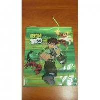 Пакет подарочный пластик 33*27*9   №10790-7