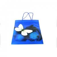 Пакет подарочный пластик 34*27*9   №10415-6