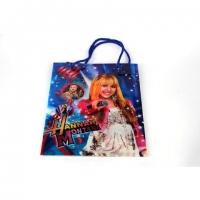 Пакет подарочный пластик 39,5*31,3*9   №10780-4