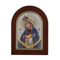 Ікона Богородиці Остробрамської MA/E1116-ΕX-C Prince Silvero