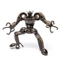 Фигурка робота металлическая СМР-2 B