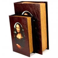 Набор книг шкатулок Мона Лиза 2 шт KSH452