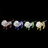 Сувенир стекло CFB 3065 набор львов 4 шт