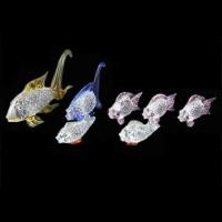 Сувенир стекло CFB 35599 набор рыбок 7 шт